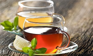 Черный чай и зеленый чай