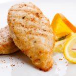 Курица с апельсинами и лимоном