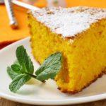 Морковно-творожный пирог