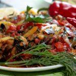 Соте из баклажанов: рецепт для диеты магги